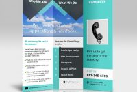 Brochure 3 Fold Template Psd Unique Tri Fold 2 2 Psd Mockups
