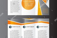 Brochure 4 Fold Template New Professional Business Three Fold Flyer Template Stock Photo Edit