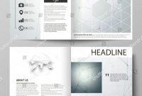 Brochure 4 Fold Template Unique Business Templates Square Design Bi Fold Stock Vector Royalty Free