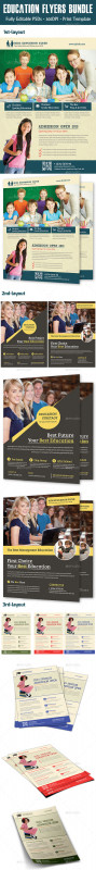 Brochure Design Templates For Education Awesome Matric Stationery And Design Templates From Graphicriver