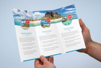 Brochure Psd Template 3 Fold New Brochure Travel Agency Tri Fold by Artbart On Envato Elements