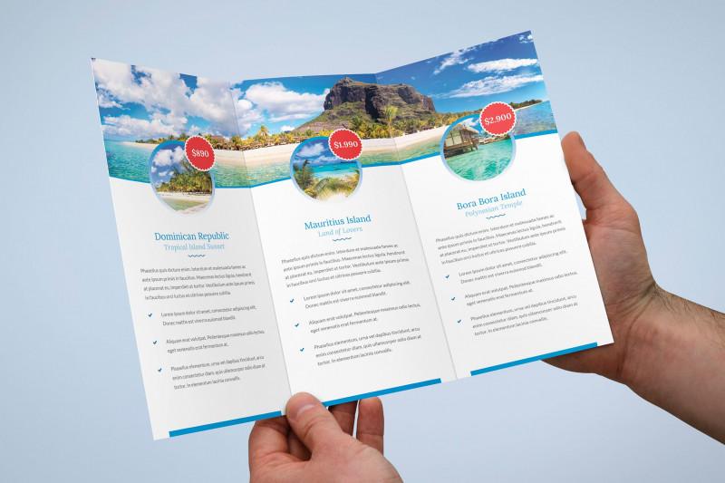 Brochure Psd Template 3 Fold New Brochure Travel Agency Tri Fold by Artbart On Envato Elements