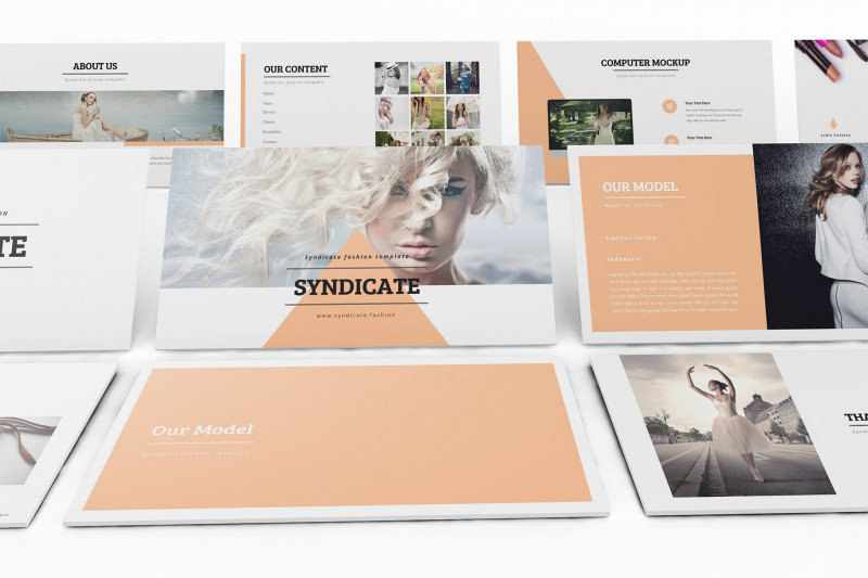 Brochure Template for Google Docs Unique Fashion Google Slides Template Google Slides Templates Creative