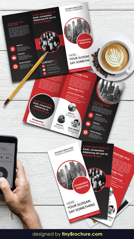 Brochure Template Google Docs Awesome Trifold Brochure Template for Google Docs