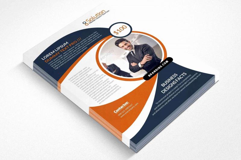 Brochure Template On Microsoft Word Unique Free Business Flyer Templates for Microsoft Word Caquetapositivo