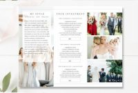 Brochure Templates for School Project Awesome Wedding Photographer Brochure Psd Brochures Photography Brochure