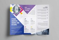 Cleaning Brochure Templates Free Unique 020 One Page Brochure Template Free Luxury Tri Fold Word Templates