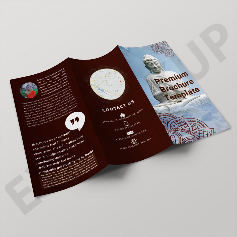 Country Brochure Template Awesome Photoshop Brochure Templates Adbis2009 org