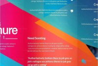 Double Sided Tri Fold Brochure Template New Tri Fold Menu Templates Awesome Brochure Design Brochure Template
