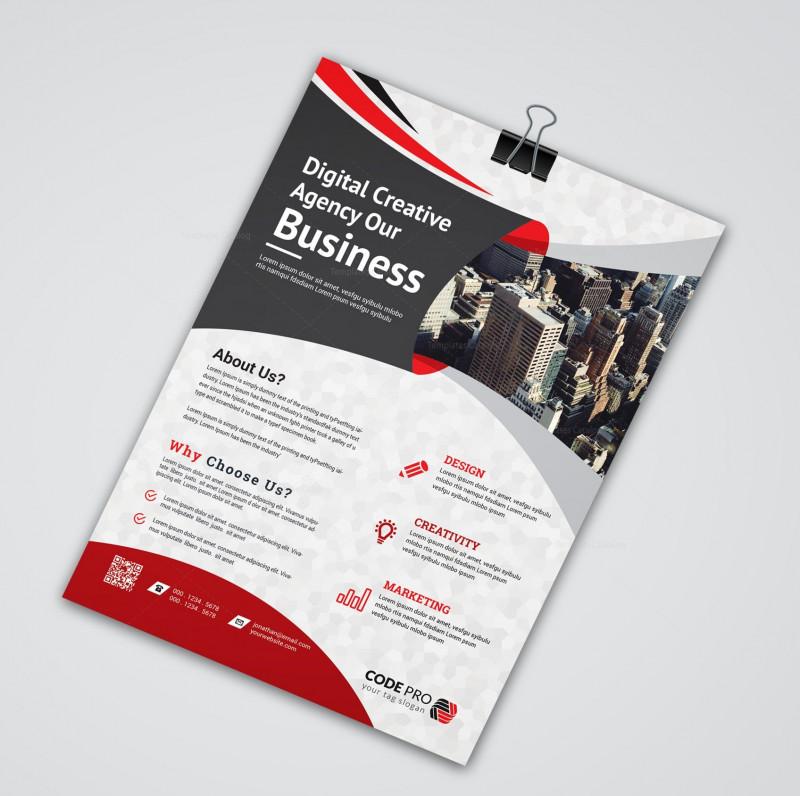 E Brochure Design Templates Awesome Creative Flyers Design Agadi Ifreezer Co