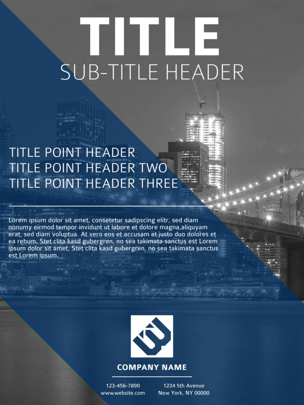 E Brochure Design Templates New Free Poster Templates Examples 15 Free Templates