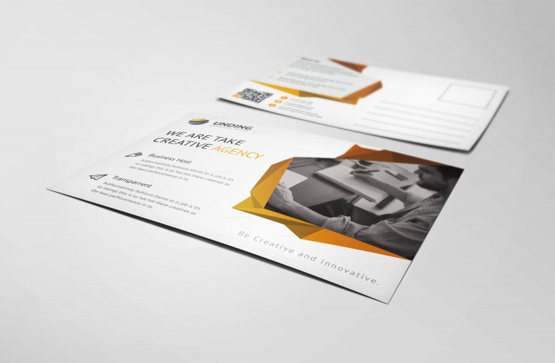 Fancy Brochure Templates Awesome Fancy Modern Elegant Postcard Template 001143