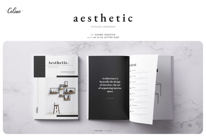 Free Brochure Template Downloads Awesome Aesthetic Lookbook Catalog Template Magazine Templates Creative