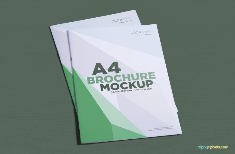 Free Illustrator Brochure Templates Download New A4 Brochure Mockup Free Psd Download Zippypixels