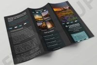 Free Tri Fold Business Brochure Templates Awesome Free Download tourism Tri Fold Brochure Template Psd Premium Mock Up