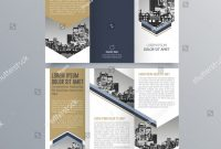 Free Tri Fold Business Brochure Templates New Brochure Design Brochure Template Creative Trifold Stock Vector