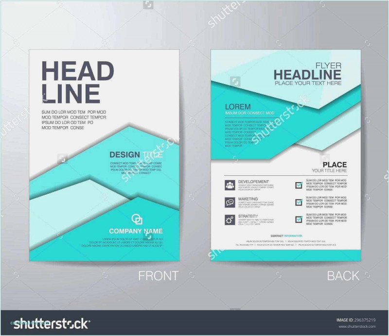 Free Tri Fold Business Brochure Templates Unique Download 56 Tri Fold Pamphlet Template Example Professional