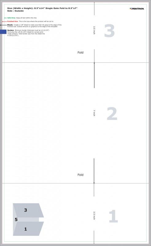 Gate Fold Brochure Template New Make Tri Fold Brochure Template Wiring Diagram Database
