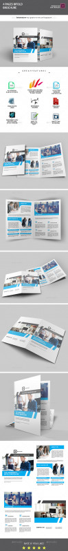 Half Page Brochure Template Awesome Half Fold Graphics Designs Templates From Graphicriver Page 4