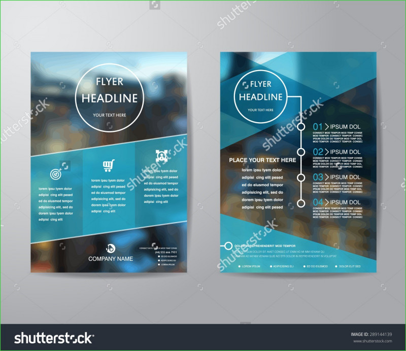 Half Page Brochure Template Unique College Brochure Design Samples