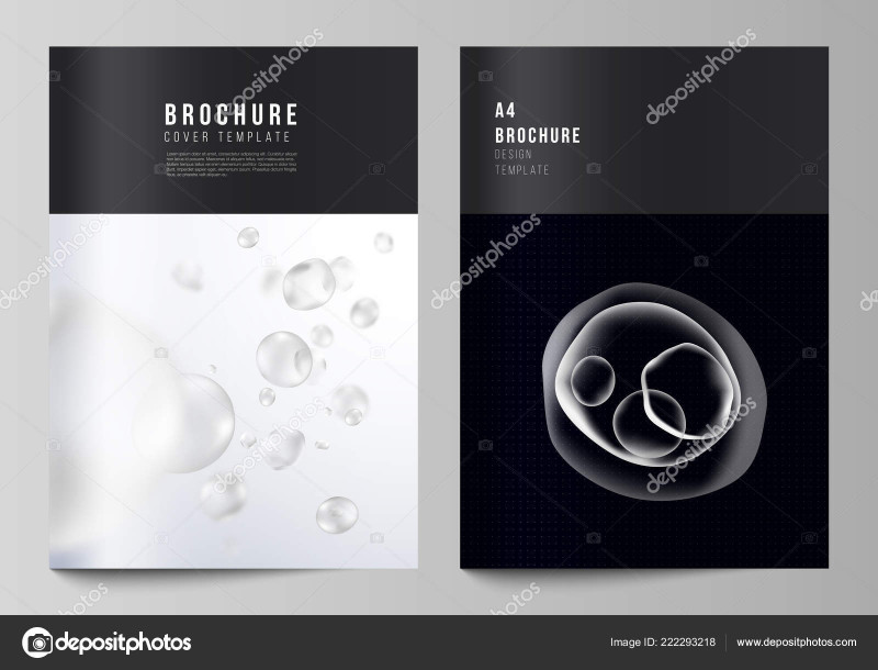Healthcare Brochure Templates Free Download Awesome The Vector Layout Of A4 Format Cover Mockup Design Template For