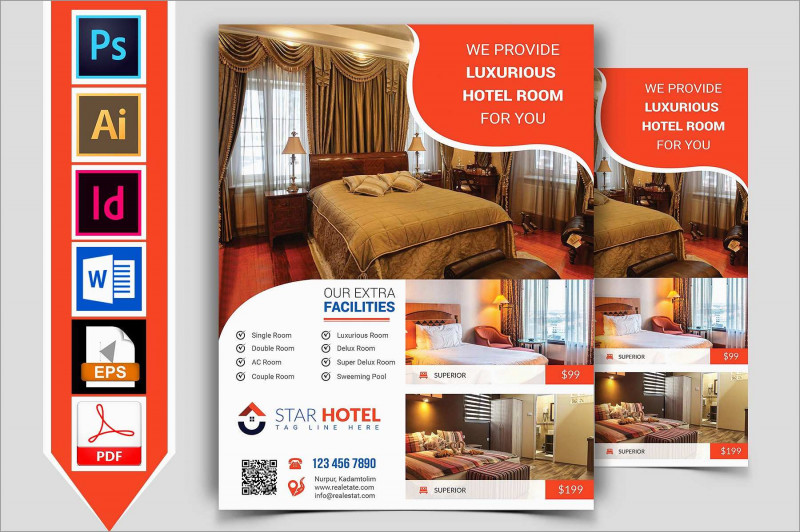 Hotel Brochure Design Templates New Beautiful Hotel Brochure Templates Free Download Best Of Template