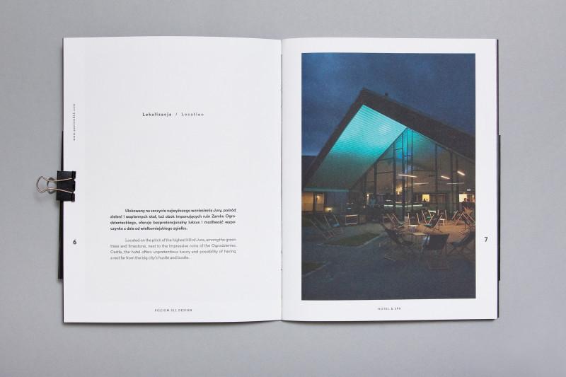 Hotel Brochure Design Templates New Poziom 511 Brochure On Behance