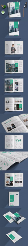Letter Size Brochure Template Awesome Business Brochure Template Indesign Indd Size A4 8 27x11 69