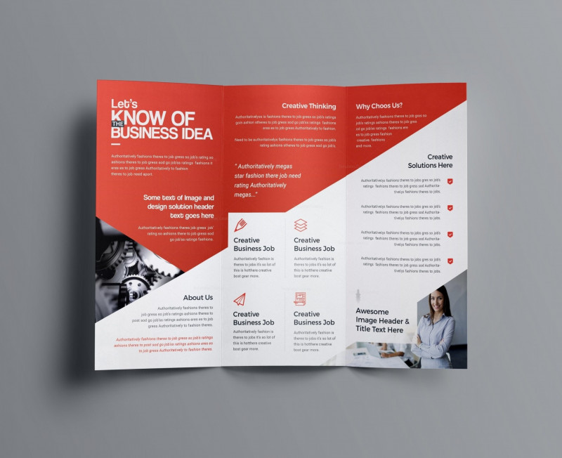 Letter Size Brochure Template New 022 Types Of Brochure Folds Luxury Letter Size Tri Fold Template