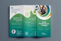 Letter Size Brochure Template New Hypnosis Professional Tri Fold Brochure Template 001203 Template