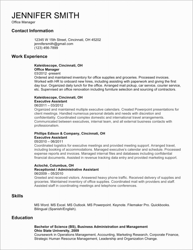 Medical Office Brochure Templates Unique Medical Receptionist Resume Example Templates Clinic Sample Entry