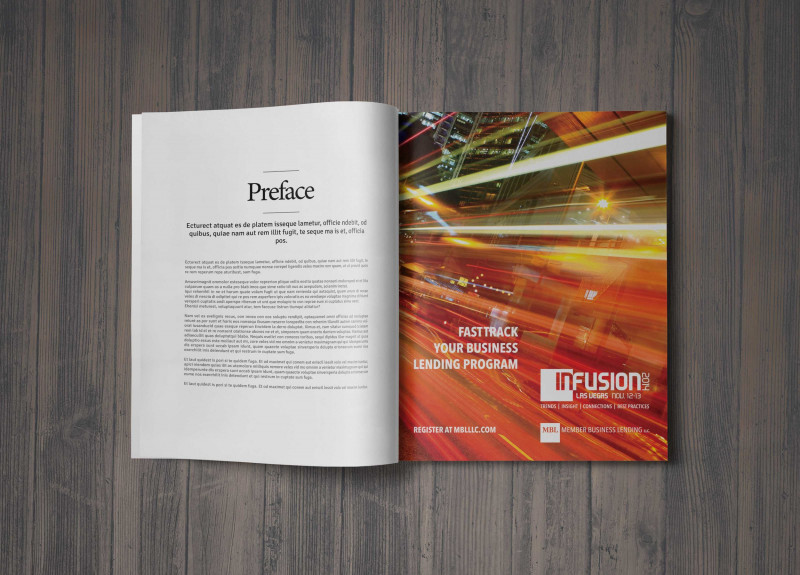 Membership Brochure Template Unique Infusion Conference Mbl Connon Williams Marketing Design