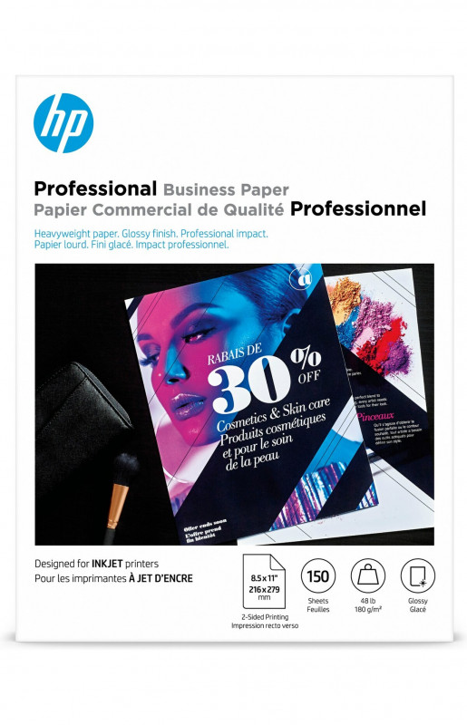 One Sided Brochure Template Awesome Hp Professional Brochure Paper Glossy 8 12 X 11 48 Lb Pack Of 150