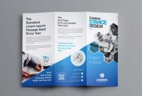 One Sided Brochure Template Awesome Tri Fold Business Card Template Fresh Manufacturing Engineering Tri