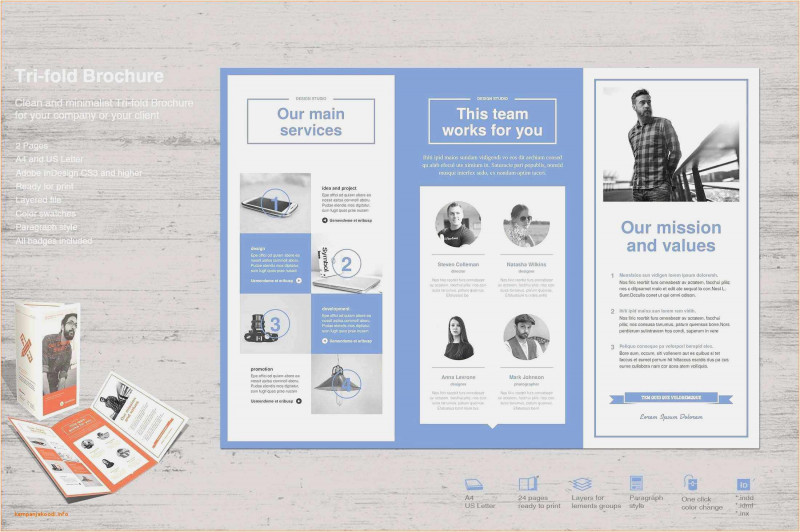 Online Brochure Template Free New Download 56 Tri Fold Pamphlet Template Example Professional