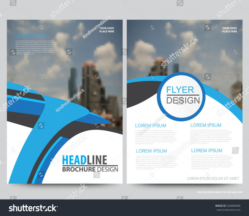 Online Free Brochure Design Templates Unique Abstract Vector Modern Flyers Brochure Annual Stock Vector Royalty