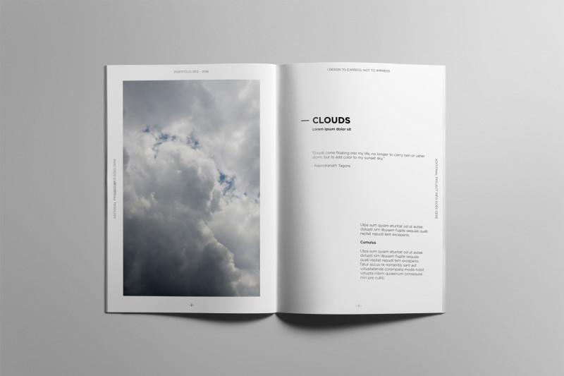 Play School Brochure Templates Awesome Portfolio Book Brochure Template