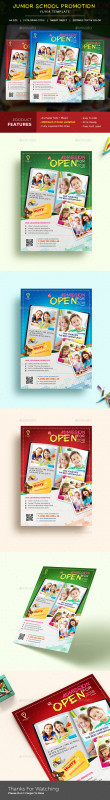 Play School Brochure Templates Unique Play School Graphics Designs Templates From Graphicriver