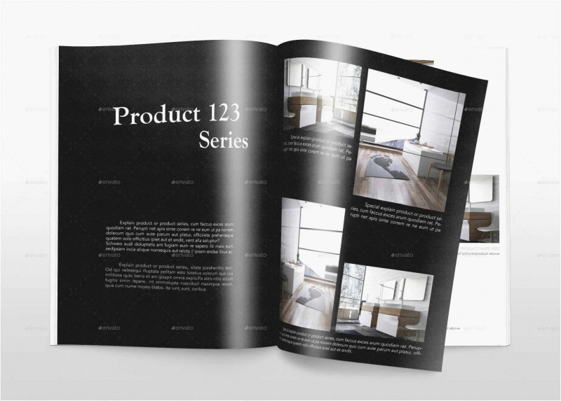 Product Brochure Template Free New Product Catalog Template Free Download Lovely Free 59 Annual Report