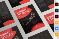 Professional Brochure Design Templates Awesome Personal Trainer Flyer Flyer Templates Creative Market