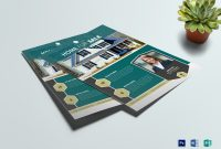 Real Estate Brochure Templates Psd Free Download New Corporate Real Estate Flyer Design Template In Word Psd Publisher