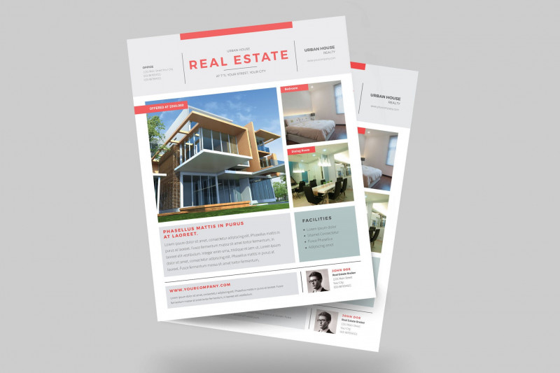 Real Estate Brochure Templates Psd Free Download New Urban Real Estate Flyer by Guuver On Envato Elements