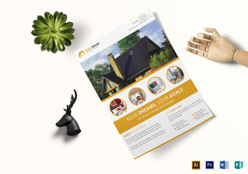 Real Estate Brochure Templates Psd Free Download Unique 10 Best Commercial Real Estate Flyer Examples Templates