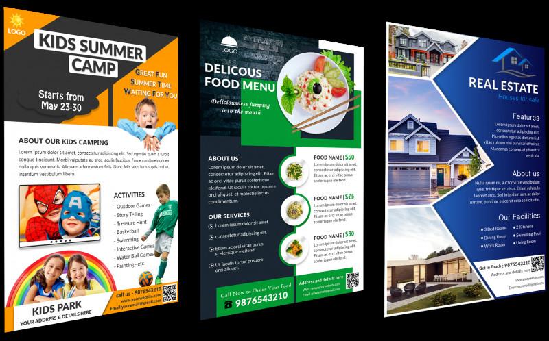School Brochure Design Templates New Download Free Flyer Templates Aˆ Customizable Aˆ Printable Aˆ Gec