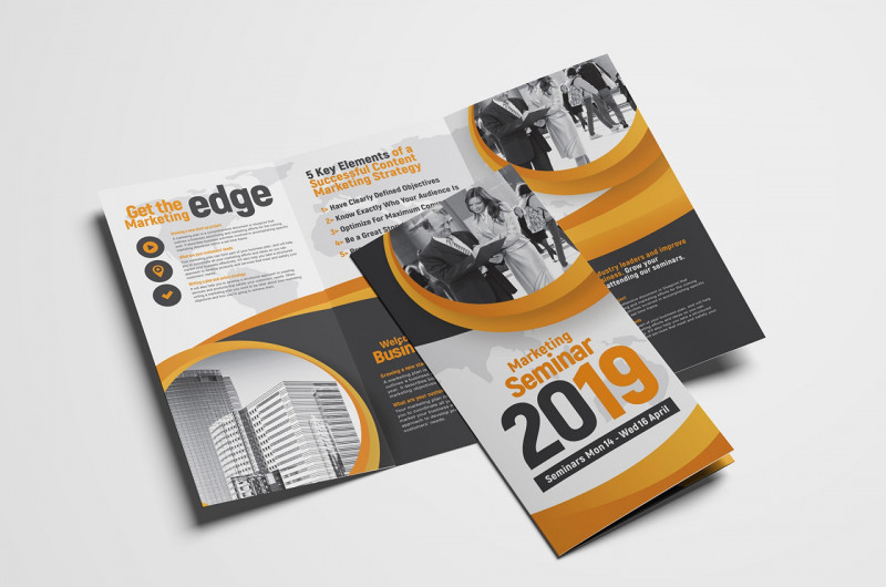 Single Page Brochure Templates Psd Awesome 008 Tri Fold Brochure Template Psd Amazing Ideas Photoshop Cs5 Free