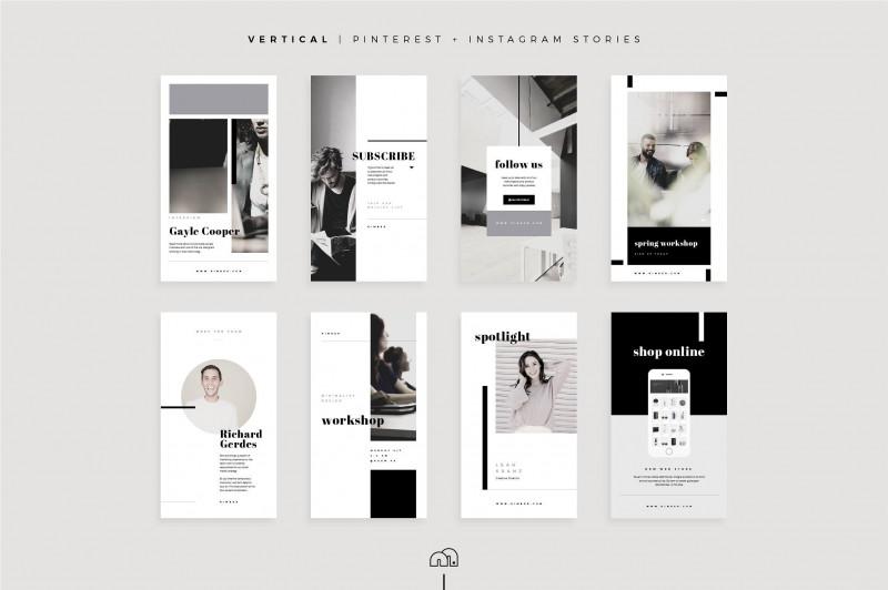 Social Media Brochure Template Awesome social Media Pack Kimber Iconsvectorelementsshapes