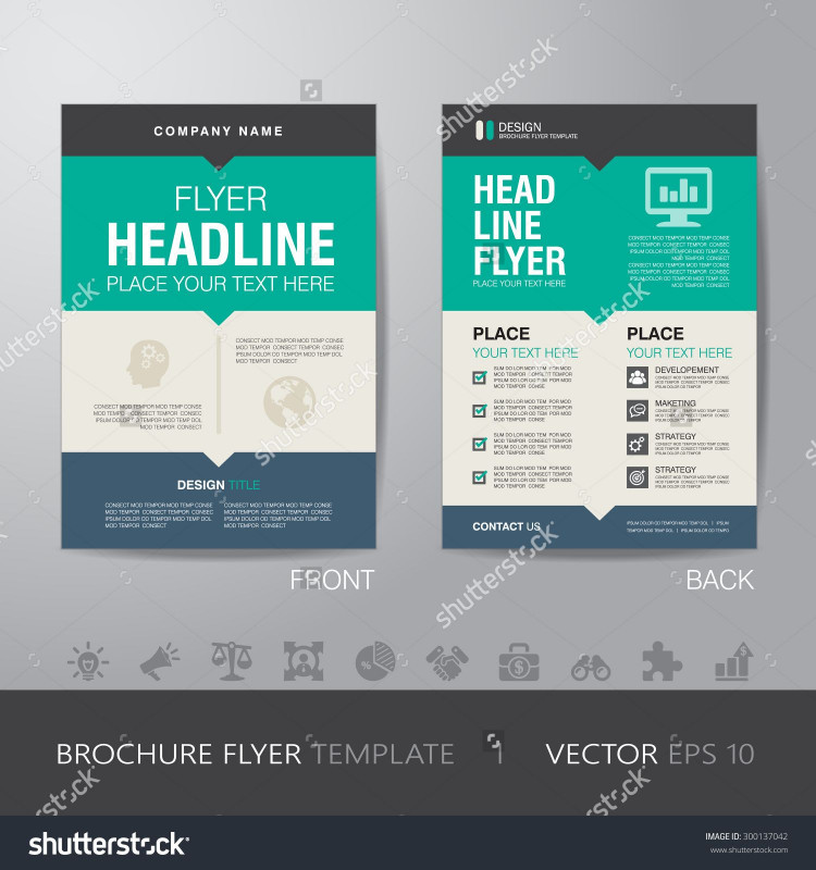 Travel and tourism Brochure Templates Free Awesome Corporate Brochure Flyer Design Layout Template In A4 Size with