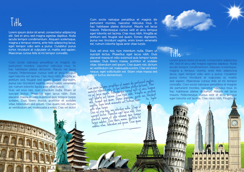 Travel Brochure Template Ks2 New What Is A Travel Brochure Suzen Rabionetassociats Com