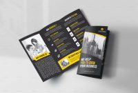 Tri Fold Brochure Ai Template Awesome 45 Premium Ree Psd Professional Bi Fold and Tri Fold Brochure
