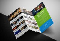 Tri Fold Brochure Ai Template Awesome Adobe Illustrator Templates Vector Catchsplace